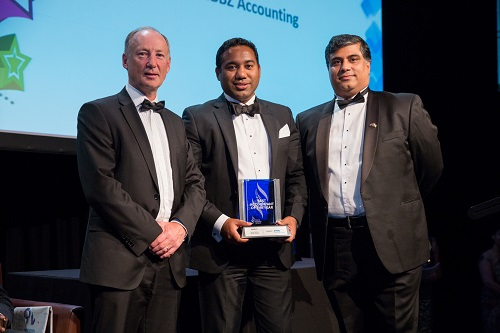 Winner IBA Best Accountant Saurav Wadhwa